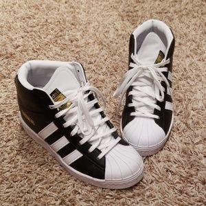 Adidas wedges sneakers black
